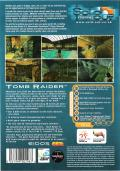 Tomb Raider DOS Back Cover
