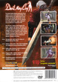 Devil May Cry PlayStation 2 Back Cover