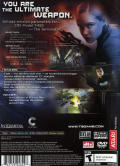 Terminator 3: Rise of the Machines PlayStation 2 Back Cover