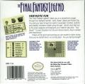The Final Fantasy Legend Game Boy Back Cover