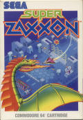 Super Zaxxon Commodore 64 Front Cover
