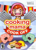 Cooking Mama: Cook Off Wii Front Cover