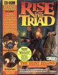 Rise of the Triad: The HUNT Begins (Deluxe Edition) DOS Front Cover
