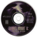 Gabriel Knight Mysteries: Limited Edition DOS Media The Beast Within Disc 1/6