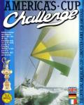 The Official America's Cup Sailing Simulation Amstrad CPC Front Cover