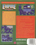 Empire Deluxe Windows 3.x Back Cover