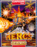 Mercs Amiga Front Cover
