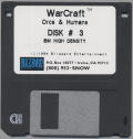 WarCraft: Orcs & Humans DOS Media Disk 3/4