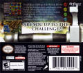 Puzzle Quest: Challenge of the Warlords Nintendo DS Back Cover