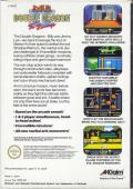 Double Dragon II: The Revenge NES Back Cover