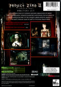 Fatal Frame II: Crimson Butterfly Xbox Back Cover