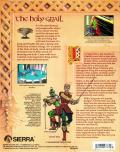 Conquests of Camelot: The Search for the Grail Amiga Back Cover