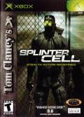 Tom Clancy's Splinter Cell Xbox Front Cover