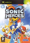 Sonic Heroes Xbox Front Cover