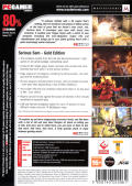 Serious Sam: Gold Windows Back Cover