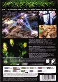 Command & Conquer 3: Tiberium Wars Windows Back Cover