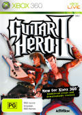 Guitar Hero II Xbox 360 Front Cover Keep Case - Front