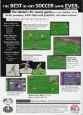 FIFA Soccer 96 Genesis Back Cover