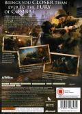 Call of Duty 3 Xbox 360 Back Cover
