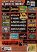 Namco Museum 50th Anniversary Windows Back Cover