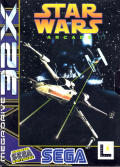 Star Wars Arcade SEGA 32X Front Cover