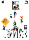 Lemmings & Oh No! More Lemmings Windows Front Cover