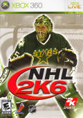 NHL 2K6 Xbox 360 Front Cover