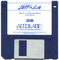 Les Manley in: Lost in L.A. DOS Media Disk 1/6