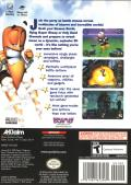 Worms 3D GameCube Back Cover