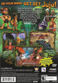 Tak: The Great Juju Challenge PlayStation 2 Back Cover