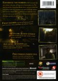 Call of Cthulhu: Dark Corners of the Earth Xbox Back Cover