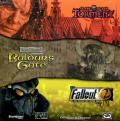 Planescape: Torment / Baldur's Gate / Fallout 2 Windows Front Cover