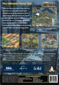 SimCity 3000 Unlimited Linux Back Cover
