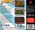 Pong: The Next Level PlayStation Back Cover