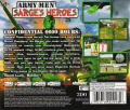 Army Men: Sarge's Heroes Dreamcast Back Cover