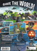 Disney's Chicken Little PlayStation 2 Back Cover