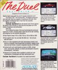 The Duel: Test Drive II Atari ST Back Cover