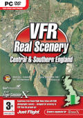 VFR Real Scenery: Central & Southern England Windows Front Cover