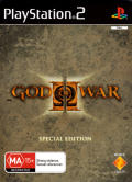 God of War II (Special Edition) PlayStation 2 Front Cover