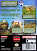 Battalion Wars GameCube Back Cover