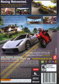 Test Drive Unlimited Xbox 360 Back Cover