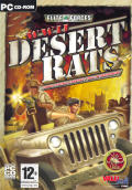 WWII: Desert Rats Windows Front Cover