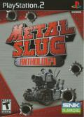 Metal Slug Anthology PlayStation 2 Front Cover