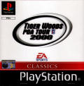 Tiger Woods PGA Tour 2000 PlayStation Front Cover