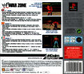 WWF War Zone PlayStation Back Cover