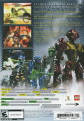 Bionicle Heroes Windows Back Cover