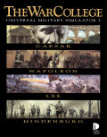 The War College: Universal Military Simulator 3 DOS Front Cover