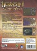 Heroes of Might and Magic III+IV Complete Windows Back Cover
