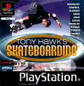 Tony Hawk's Pro Skater PlayStation Front Cover