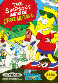 The Simpsons: Bart vs. the Space Mutants Genesis Front Cover